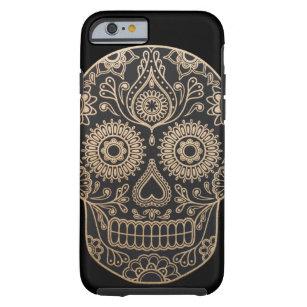 Day Dead Sugar Skull Tough iPhone 6 Case