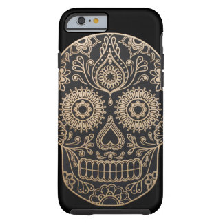 Day Dead Sugar Skull Tough iPhone 6 Case