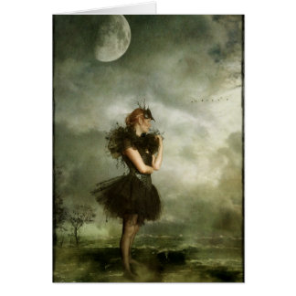 day dream dancer greeting card