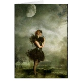 day dream dancer greeting card