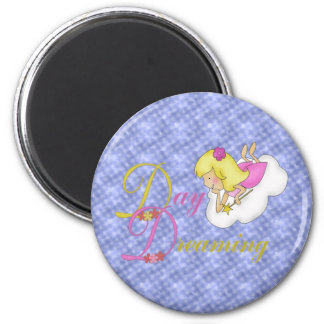 Day Dreaming 6 Cm Round Magnet
