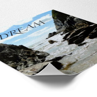 Day Dreaming Peaceful Seascape Poster