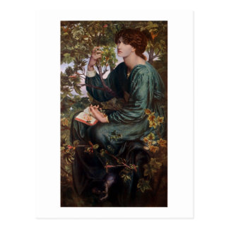 Day Dreams by Rossetti Postcard