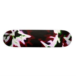 Day Glo Darkness Custom Skate Board