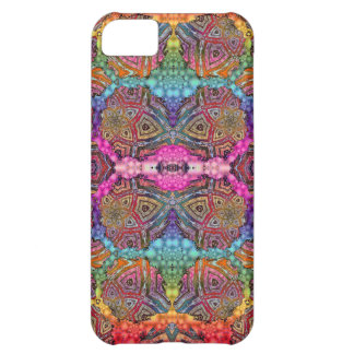 Day-Glo Pattern Drench Case For iPhone 5C