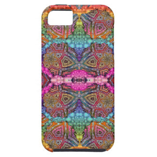 Day-Glo Pattern Drench iPhone 5 Case