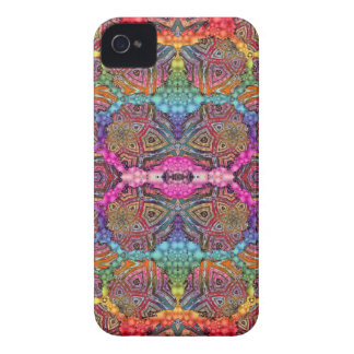 Day-Glo Pattern Drench Case-Mate iPhone 4 Case
