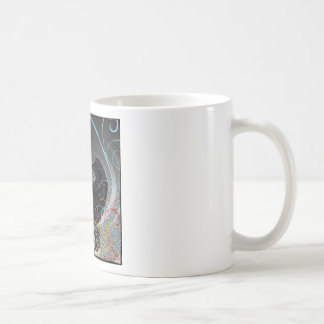 Day Glo Raven Mugs