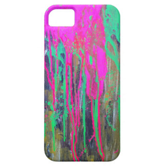 day glo sludge by SLUDGEart iPhone 5 Cover