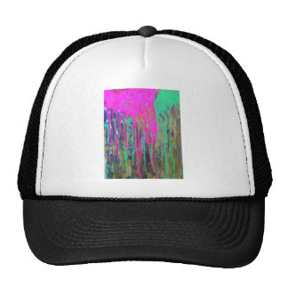 day glo sludge by SLUDGEart Mesh Hat