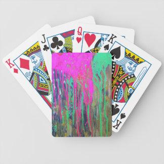 day glo sludge by SLUDGEart Card Deck