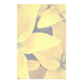 Day lilies stationery