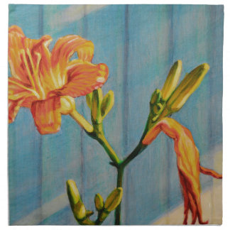 Day Lily Cycle Napkin
