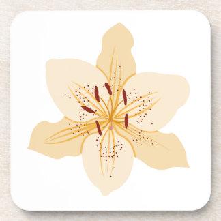 Day Lily Illustrative Design Coasters