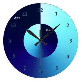 Day & Night Large Clock