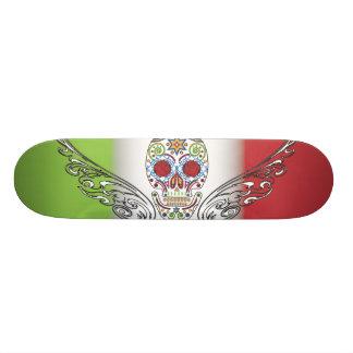 day of dead custom skate board