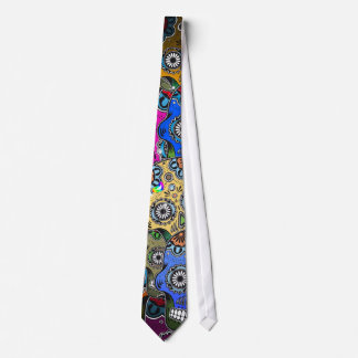 DAY OF DEAD TIE