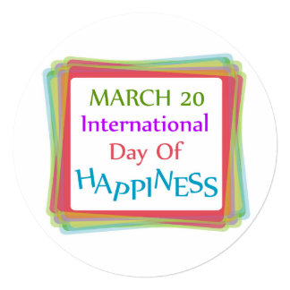 Day of Happiness Card