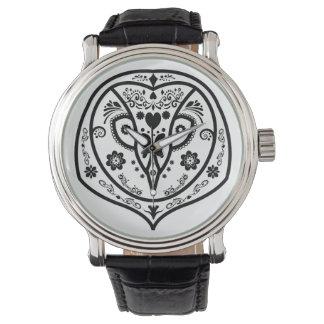 day of owls wristwatch