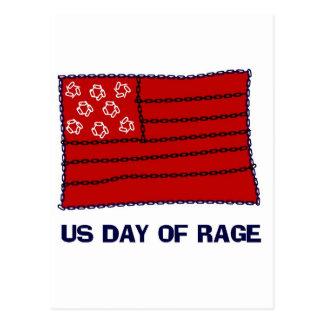 Day of Rage Postcard