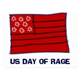 Day of Rage Postcards