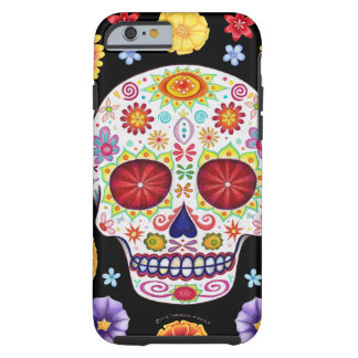 Day of the Dead Art iPhone 6 case Tough iPhone 6 Case
