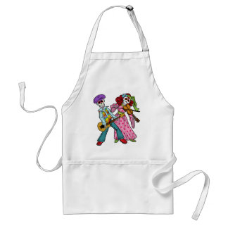 Day of the Dead Band Apron