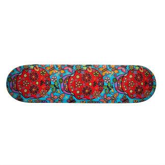 Day of the Dead - Blood Butterflies Skate Board