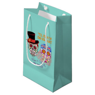 Day Of The Dead Bride And Groom Party Favor Bag