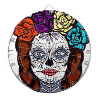 Day of the Dead Bride Dartboard