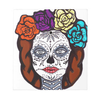 Day of the Dead Bride Notepad