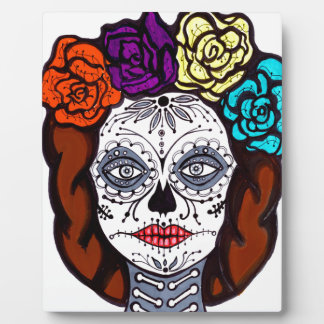 Day of the Dead Bride Plaque
