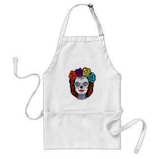 Day of the Dead Bride Standard Apron