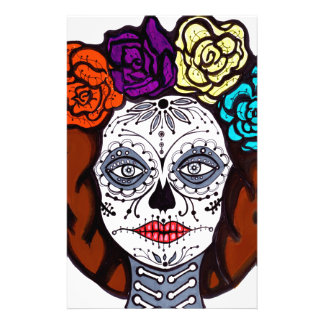 Day of the Dead Bride Stationery