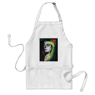 Day of the  Dead by Lori Karels Standard Apron