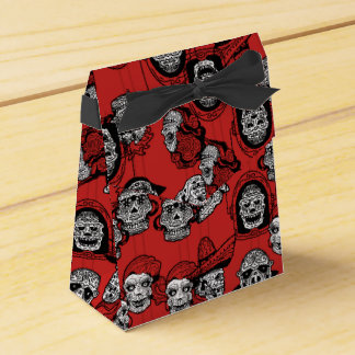 DAY OF THE DEAD by Slipperywindow Party Favour Boxes