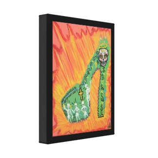 Day of the dead canvas prints