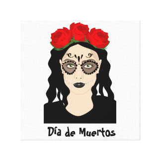 Day of the Dead Canvas Art