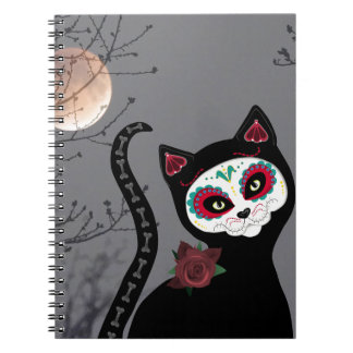 Day of the Dead Cat Notebooks