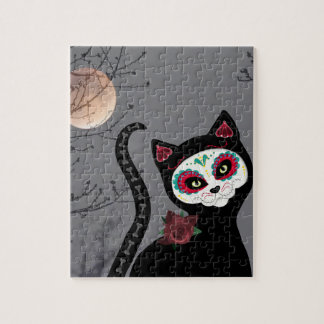 Day of the Dead Cat Puzzle