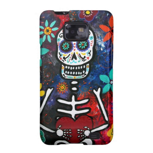 DAY OF THE DEAD CORAZON SAMSUNG CASE SAMSUNG GALAXY S COVERS