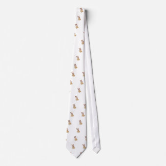 Day of the Dead Cream  Frenchie Tie