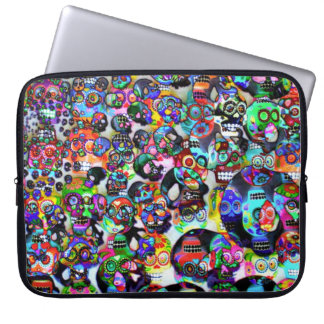 Day Of The Dead Electronics Bag Laptop Sleeves