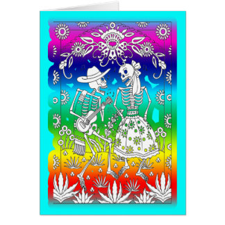 Day Of The Dead, Festival Card