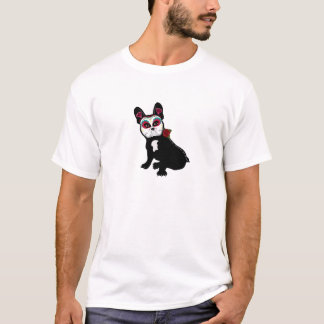 Day of the Dead Frenchie T-Shirt