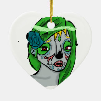 Day of The Dead Girl Ornament