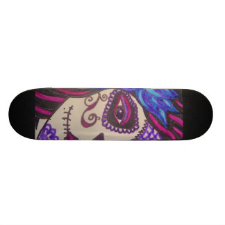 Day of the Dead Girl Skate Board Deck