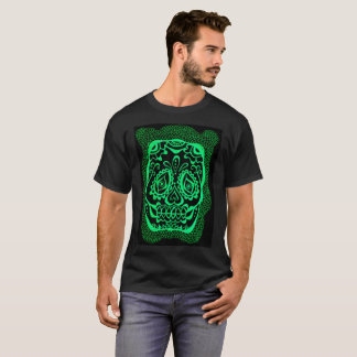 day of the dead henna inspired t-shirt