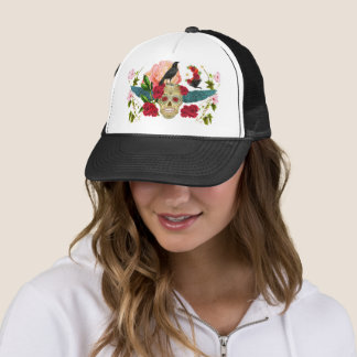 Day of the Dead I Dia de los Muertos Trucker Hat