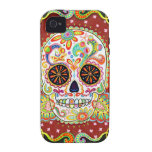 Day of the Dead iPhone 4/4S Case-mate Tough Case iPhone 4/4S Case